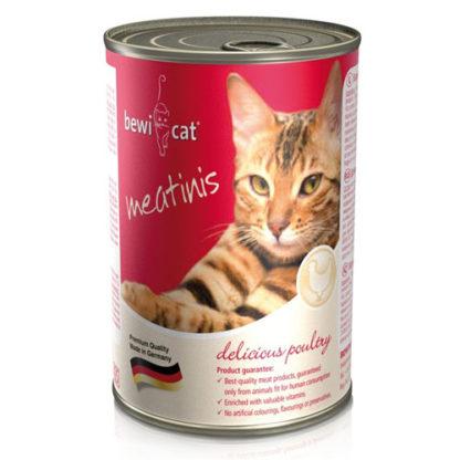 Bewi Cat Консервы для Кошек с Курицей