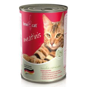 Bewi Cat Консервы для Кошек с Дичью 400г официальный