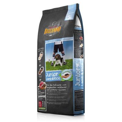 Belcando Junior Lamb and Rice для щенков средних и крупных пород Ягненок рис