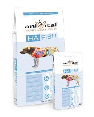 Anivital HA Fish гипоаллергенный сухой корм для собак с чувствительным пищеварением Сельдь Криль