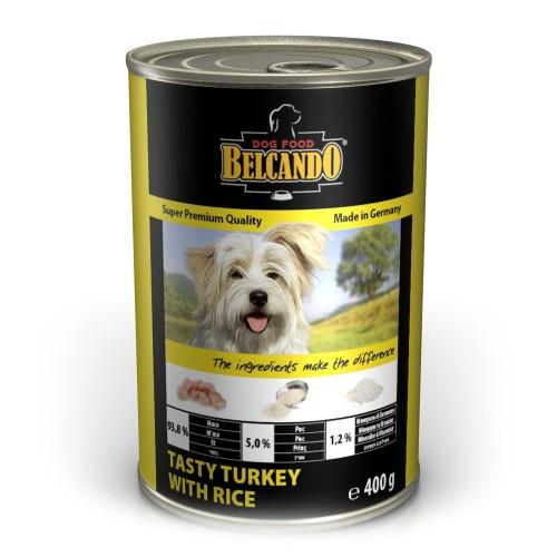 Belcando Индейка с рисом консервы для собак 400г