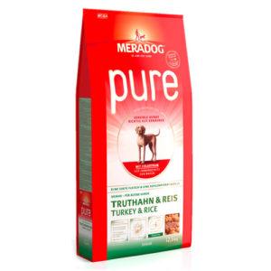 Meradog Pure Turkey and Rice Senior гипоаллергенный сухой корм для пожилых собак