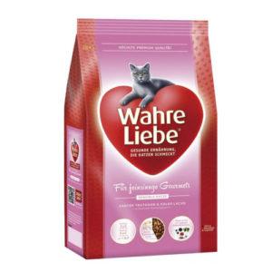 Wahre Liebe Sensible сухой корм для аллергичных кошек