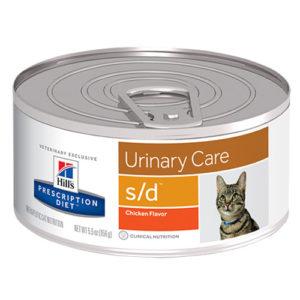Prescription Diet Feline s/d консервы для лечения мочекаменной болезни