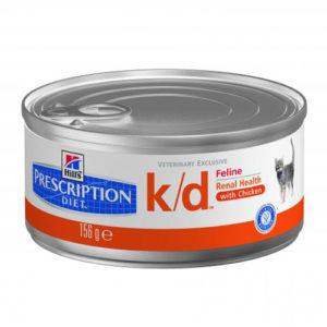 Hill's Prescription Diet™ k/d™ Feline Фарш с курицей