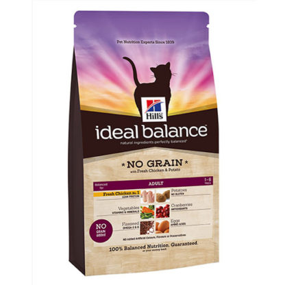 Hill's Ideal Balance Feline Adult NO GRAIN Chicken and Potato