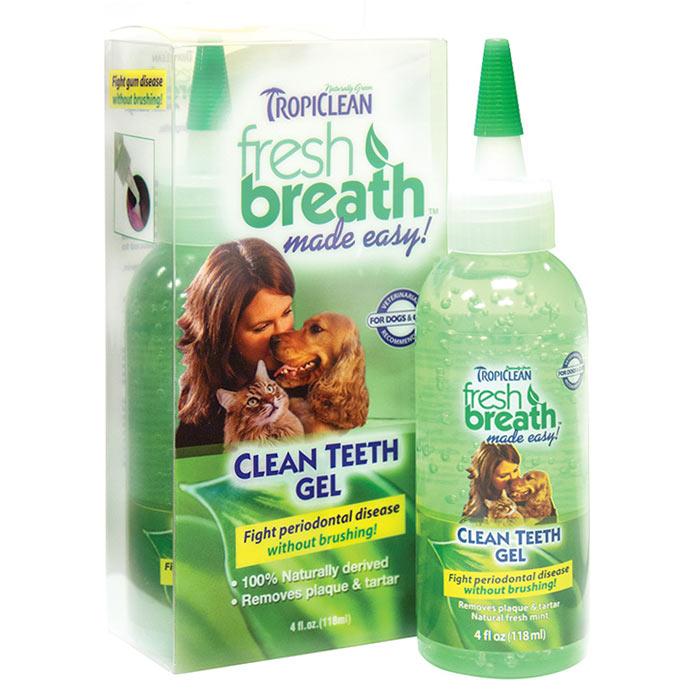 Гель для зубов для собак tropiclean