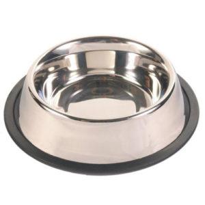 Trixie миска металлическая с резинкой 5 размеров для собак
