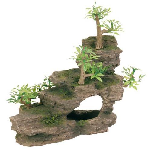 Trixie Грот каменная лестница с растениями