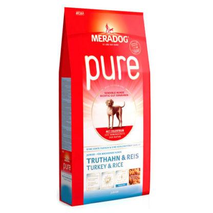 Meradog Pure Junior Turkey and Rice гипоаллергенный корм для юниоров