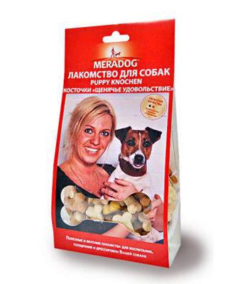 Meradog Puppy Knochen Косточки Щенячье удовольствие