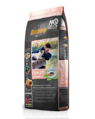 Belcando Finest Grain-Free Salmon гипоаллергенный корм для собак с лососем