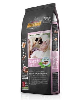 Belcando Finest Light для склонных к полноте и стареющих собак