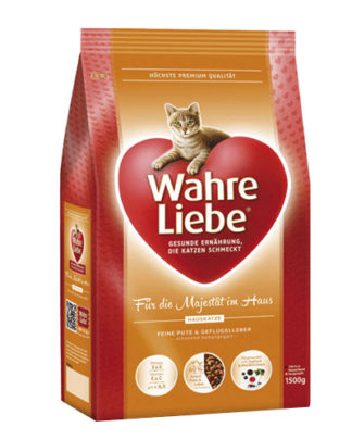 Wahre Liebe Hauskatze сухой корм для домашних кошек