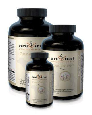 AniVital CaniDerm витамины для кожи и шерсти собак