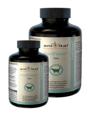 Anivital FeliFiber пищевая добавка для снижения веса кошек