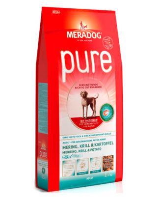 Meradog Pure Herring Krill Potato сухой корм для собак Сельдь Криль Картофель