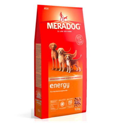 Meradog Energy корм для собак с высоким уровнем активности