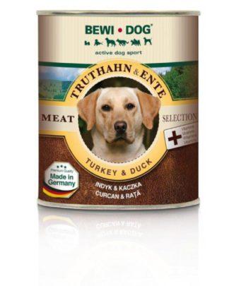 Bewi dog консервы для собак индейка утка