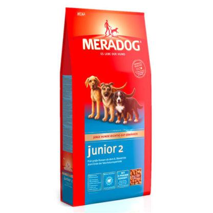 Meradog Junior 2 корм для щенков крупных пород