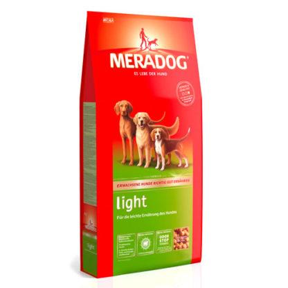 Meradog Odor Stop Light корм для собак склонных к лишнему весу