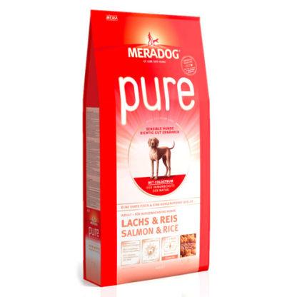 Meradog Pure Salmon and Rice гипоаллергенный сухой корм для собак лосось