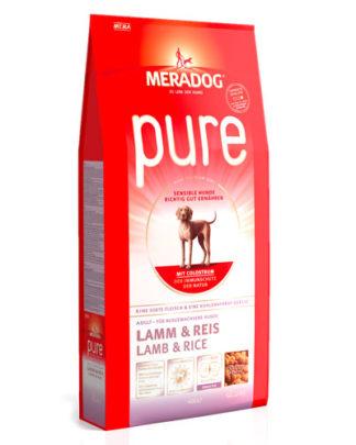 Meradog Pure Lamb and Rice гипоаллергенный сухой корм для собак