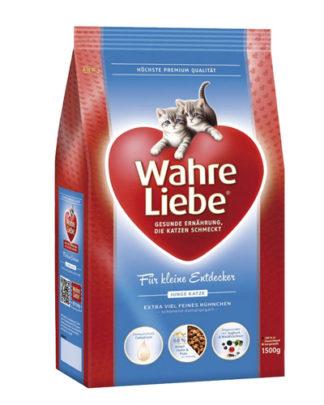 Wahre Liebe Junior сухой корм для котят