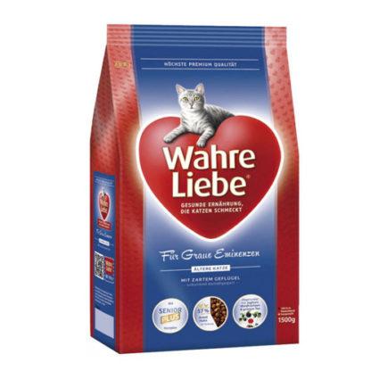 Wahre Liebe Altere сухой корм для стареющих кошек