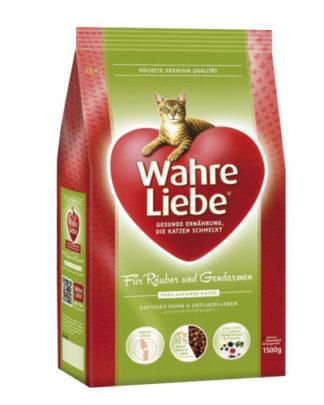 Wahre Liebe Freilaufende сухой корм для активных кошек