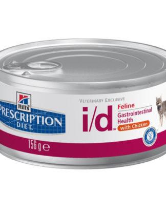 Hill's Prescription Diet i/d Feline с курицей консервы для кошек