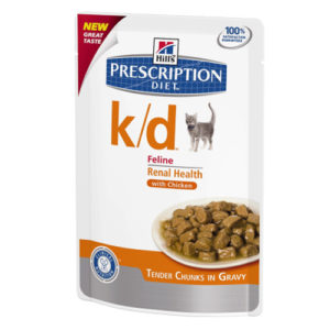 Prescription Diet™ k/d™ Feline с курицей паучи