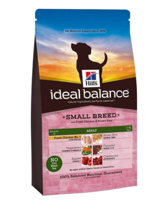 Hill's Ideal Balance Canine Adult Small Breed Chicken and Brown Rice
