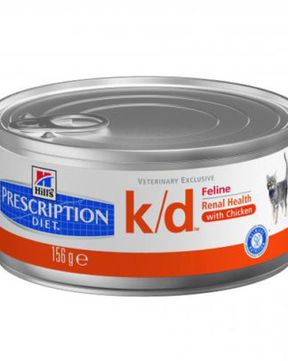 Hill's Prescription Diet™ k/d™ Feline Фарш с курицей