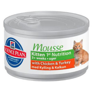 Hill's Science Plan Kitten 1st Nutrition Mousse