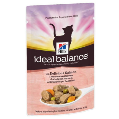 Hill's Ideal Balance Feline Adult Salmon
