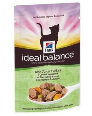Hill's Ideal Balance Feline Adult Turkey
