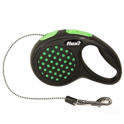 Flexi Design XS 3м трос Рулетка для собак весом до 8кг