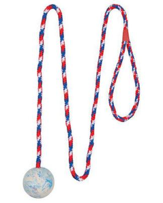 Trixie Мяч на веревке Игрушка для собак