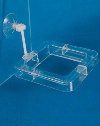 Trixie кормушка для рыб квадратная 7х7 см
