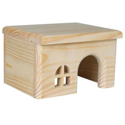 Trixie деревянный домик для хомяка, мыши