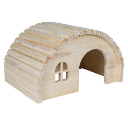 Trixie деревянный домик для хомяка, мыши 19х11х13см
