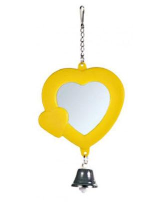Trixie зеркало Сердце для попугаев
