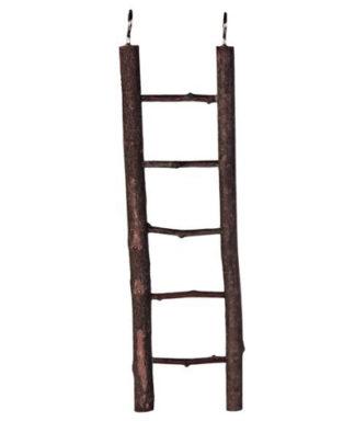 Trixie лестница для попугаев с корой